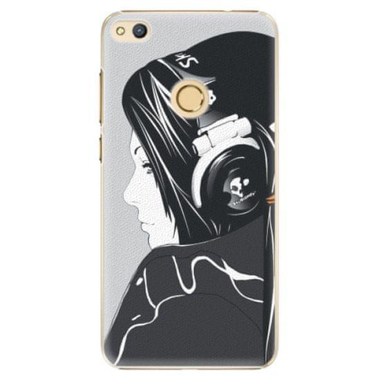 iSaprio Plastikowa obudowa - Headphones na Honor 8 Lite