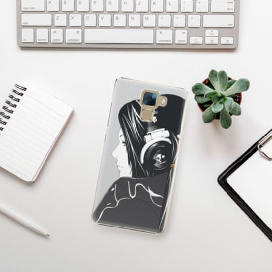 iSaprio Plastikowa obudowa - Headphones na Honor 7
