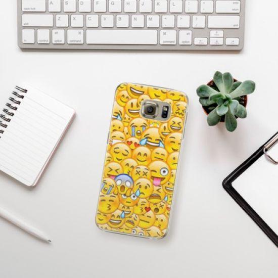 iSaprio Plastikowa obudowa - Emoji na Samsung Galaxy S6 Edge Plus