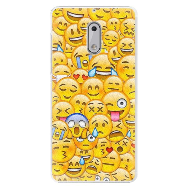 iSaprio Plastový kryt - Emoji pro Nokia 6