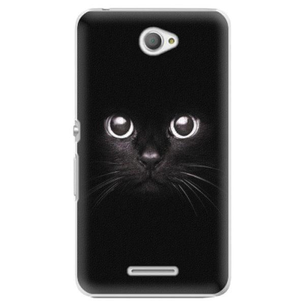 iSaprio Plastový kryt - Black Cat pro Sony Xperia E4