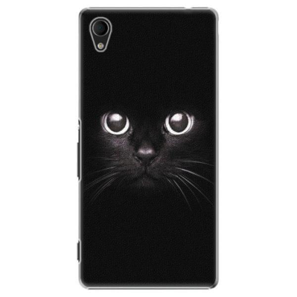 iSaprio Plastový kryt - Black Cat pro Sony Xperia M4 Aqua