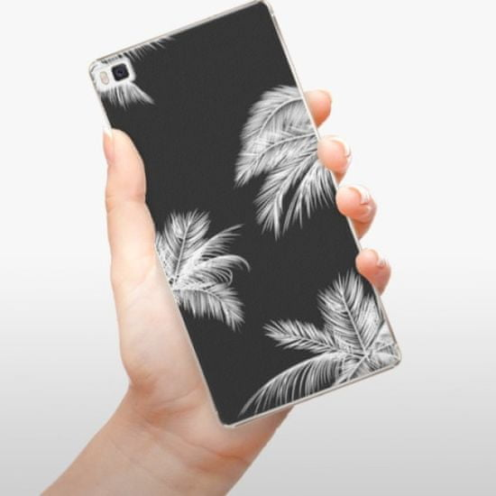 iSaprio Plastikowa obudowa - White Palm na Huawei P8