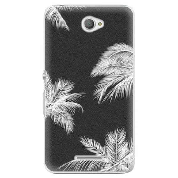 iSaprio Plastový kryt - White Palm pro Sony Xperia E4