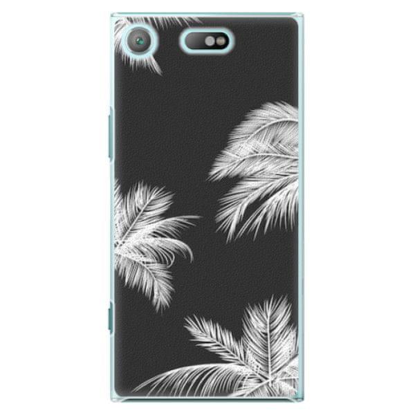 iSaprio Plastový kryt - White Palm pro Sony Xperia XZ1 Compact