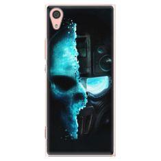 iSaprio Plastový kryt - Roboskull pro Sony Xperia XA1