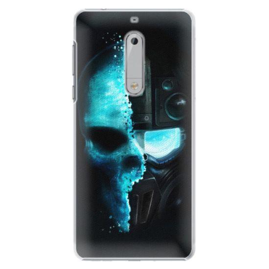 iSaprio Roboskull műanyag tok Nokia 5