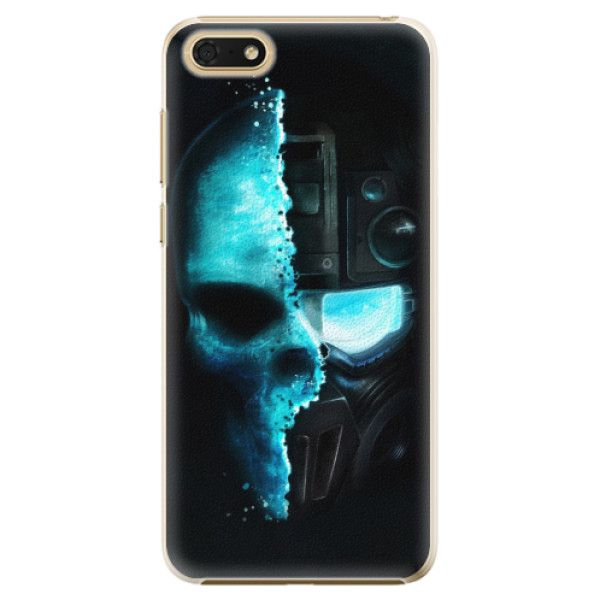 iSaprio Plastový kryt - Roboskull pro Honor 7S