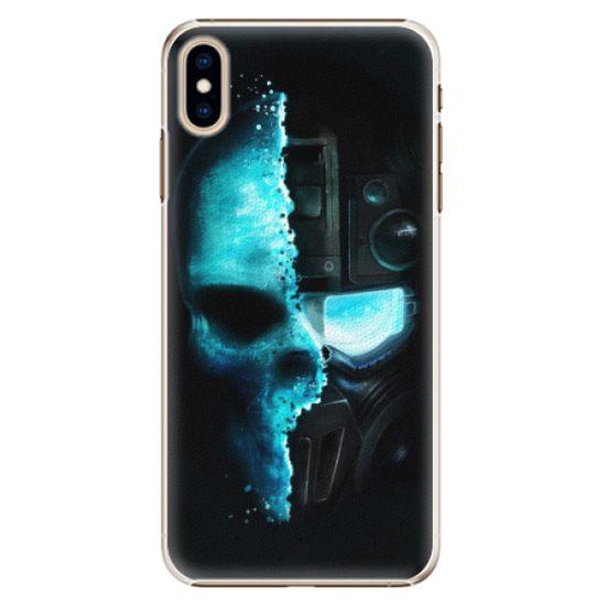 iSaprio Plastikowa obudowa - Roboskull na iPhone XS Max