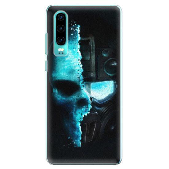 iSaprio Plastikowa obudowa - Roboskull na Huawei P30