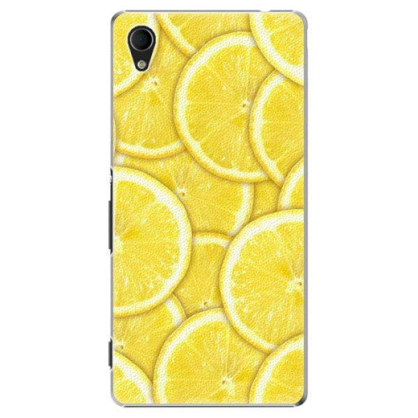 iSaprio Plastový kryt - Yellow pro Sony Xperia M4 Aqua