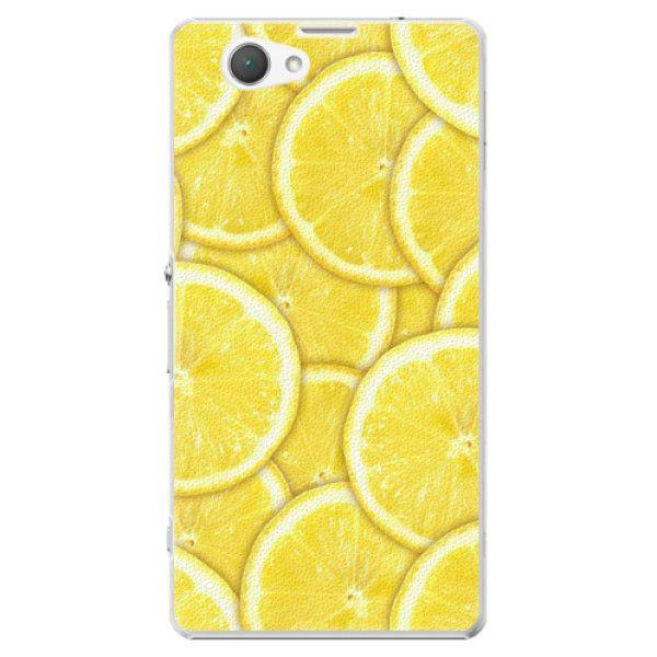 iSaprio Plastový kryt - Yellow pro Sony Xperia Z1 Compact