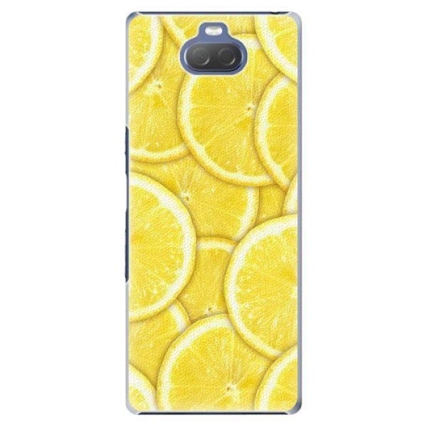 iSaprio Plastový kryt - Yellow pro Sony Xperia 10