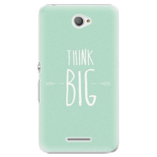 iSaprio Think Big műanyag tok Sony Xperia E4