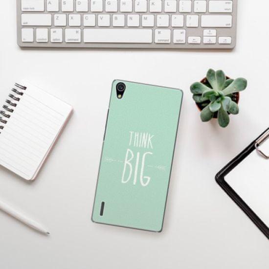 iSaprio Plastikowa obudowa - Think Big na Huawei Ascend P7