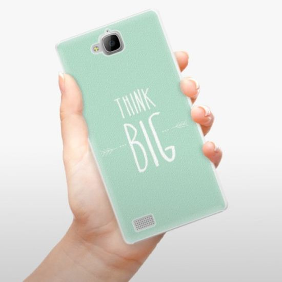 iSaprio Plastikowa obudowa - Think Big na Honor 3C
