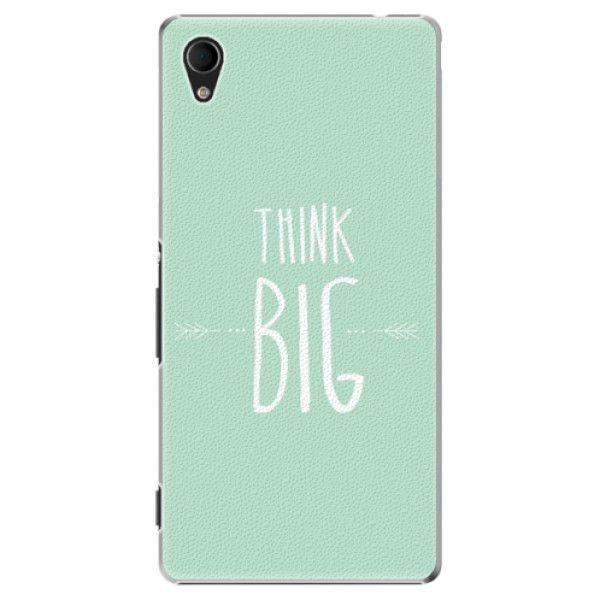 iSaprio Plastový kryt - Think Big pro Sony Xperia M4 Aqua