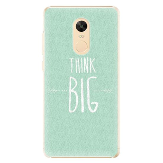 iSaprio Think Big műanyag tok Xiaomi Redmi Note 4X