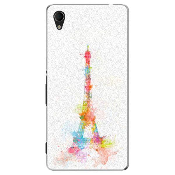 iSaprio Plastový kryt - Eiffel Tower pro Sony Xperia M4 Aqua