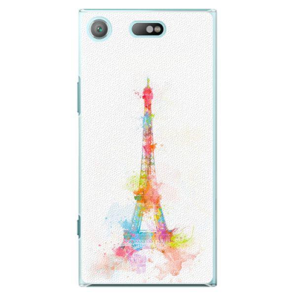 iSaprio Plastový kryt - Eiffel Tower pro Sony Xperia XZ1 Compact