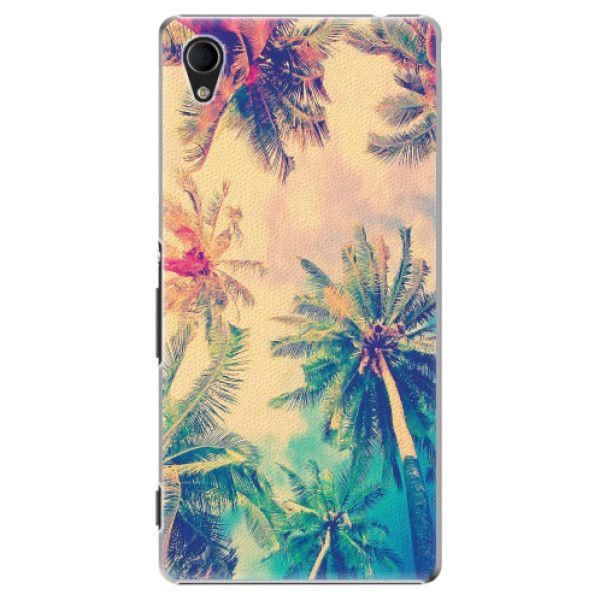 iSaprio Plastový kryt - Palm Beach pro Sony Xperia M4 Aqua