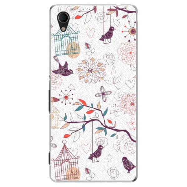 iSaprio Plastový kryt - Birds pro Sony Xperia M4 Aqua