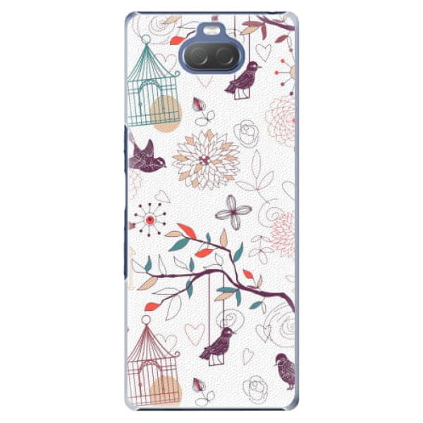 iSaprio Plastový kryt - Birds pro Sony Xperia 10