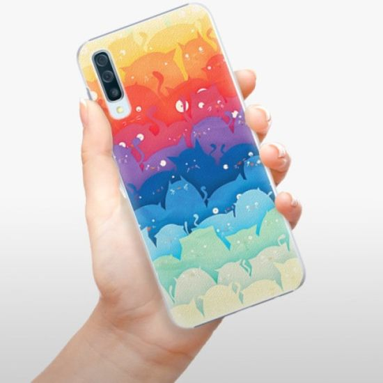 iSaprio Plastikowa obudowa - Cats World na Samsung Galaxy A50