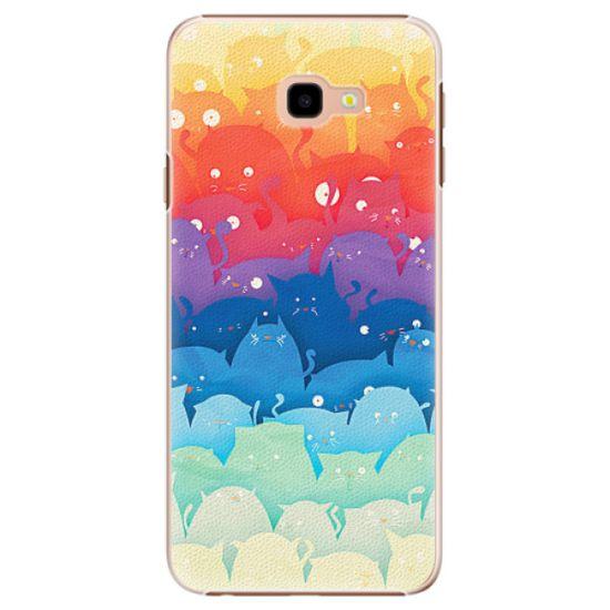 iSaprio Plastikowa obudowa - Cats World na Samsung Galaxy J4+
