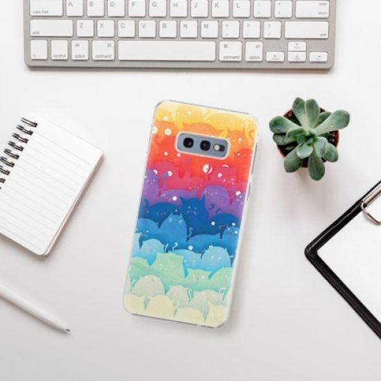 iSaprio Plastikowa obudowa - Cats World na Samsung Galaxy S10e