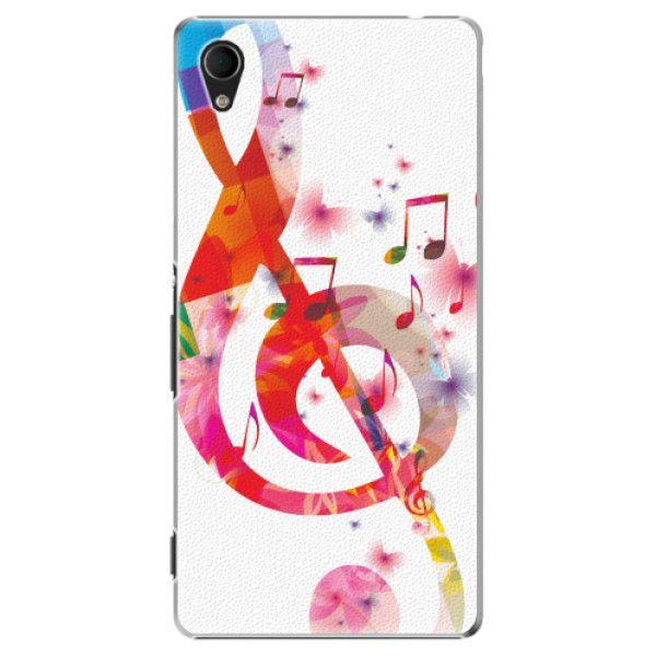 iSaprio Plastový kryt - Love Music pro Sony Xperia M4 Aqua