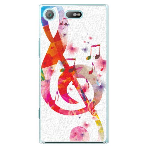 iSaprio Plastový kryt - Love Music pro Sony Xperia XZ1 Compact