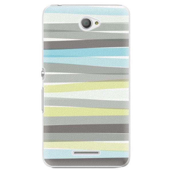 iSaprio Plastový kryt - Stripes pro Sony Xperia E4