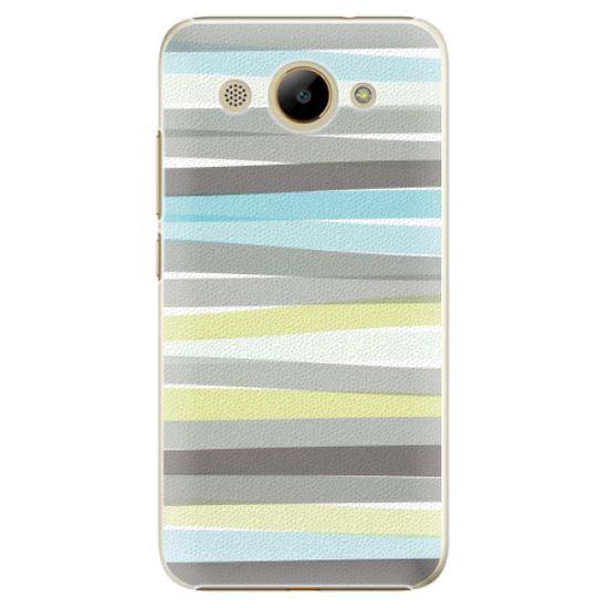iSaprio Plastikowa obudowa - Stripes na Huawei Y3 2017