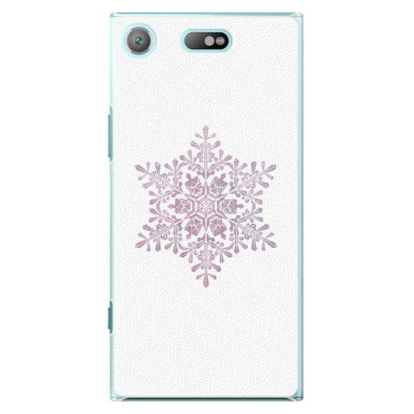 iSaprio Plastový kryt - Snow Flake pro Sony Xperia XZ1 Compact