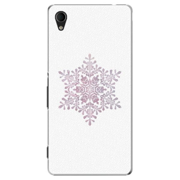 iSaprio Plastový kryt - Snow Flake pro Sony Xperia M4 Aqua