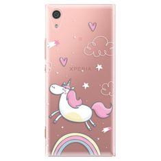 iSaprio Plastový kryt - Unicorn 01 pro Sony Xperia XA1