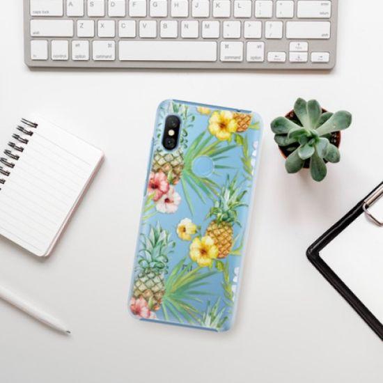 iSaprio Plastikowa obudowa - Pineapple Pattern 02 na Xiaomi Redmi Note 6 Pro