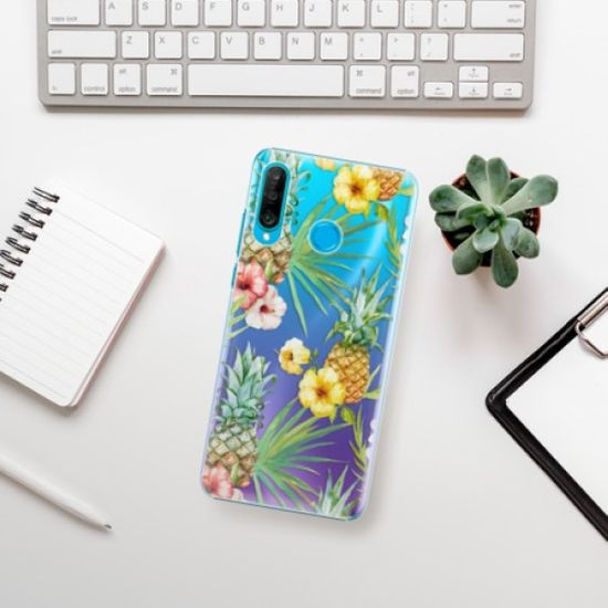 iSaprio Plastikowa obudowa - Pineapple Pattern 02 na Huawei P30 Lite