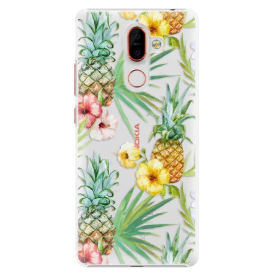 iSaprio Plastikowa obudowa - Pineapple Pattern 02 na Nokia 7 Plus