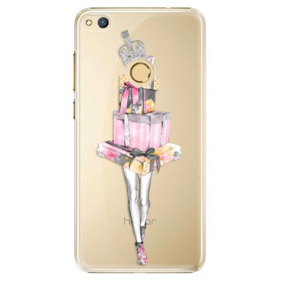 iSaprio Plastikowa obudowa - Queen of Shopping na Honor 8 Lite
