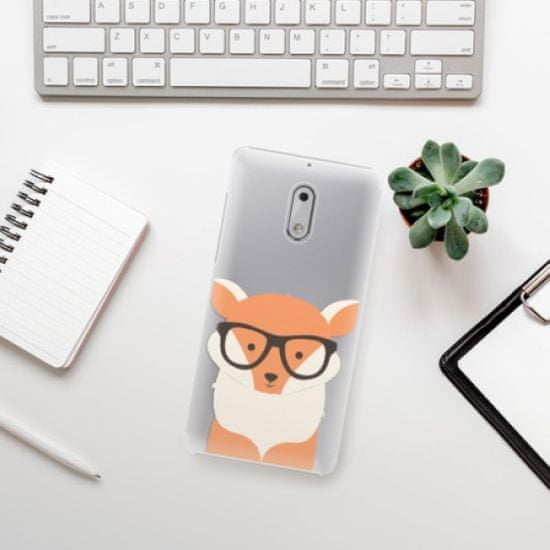 iSaprio Orange Fox műanyag tok Nokia 6