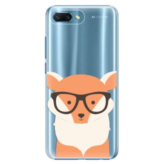 iSaprio Orange Fox műanyag tok Huawei Honor 10