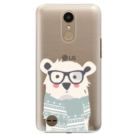 iSaprio Plastikowa obudowa - Bear with Scarf na LG K10 2017