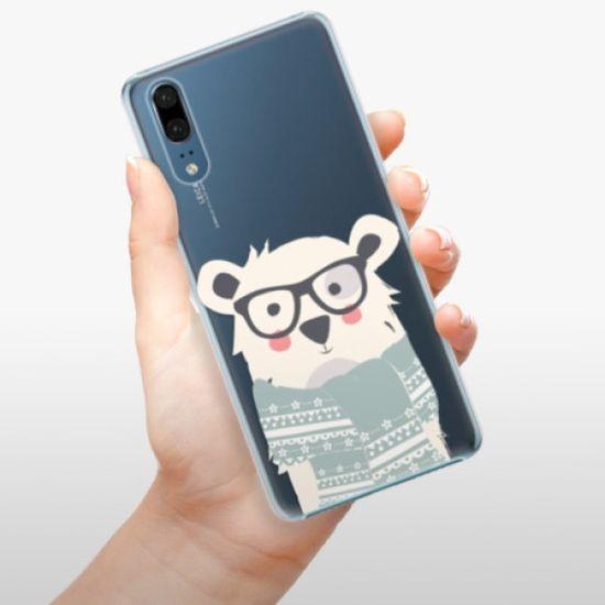 iSaprio Plastikowa obudowa - Bear with Scarf na Huawei P20