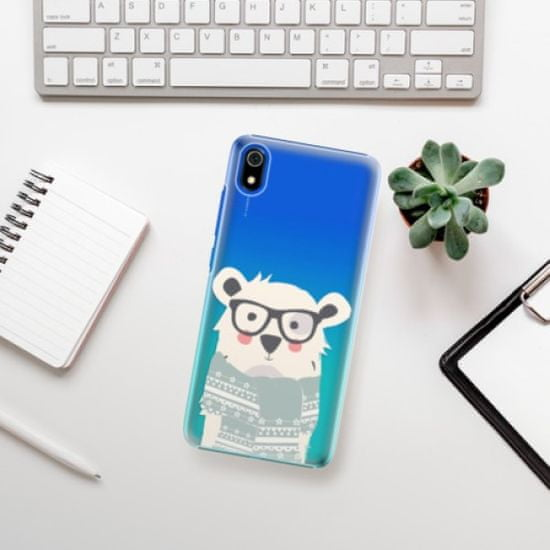 iSaprio Bear with Scarf műanyag tok Xiaomi Redmi 7A
