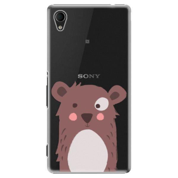iSaprio Plastový kryt - Brown Bear pro Sony Xperia M4 Aqua