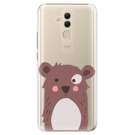 iSaprio Plastikowa obudowa - Brown Bear na Huawei Mate 20 Lite