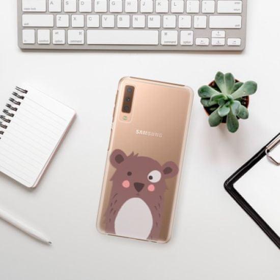 iSaprio Plastikowa obudowa - Brown Bear na Samsung Galaxy A7 (2018)