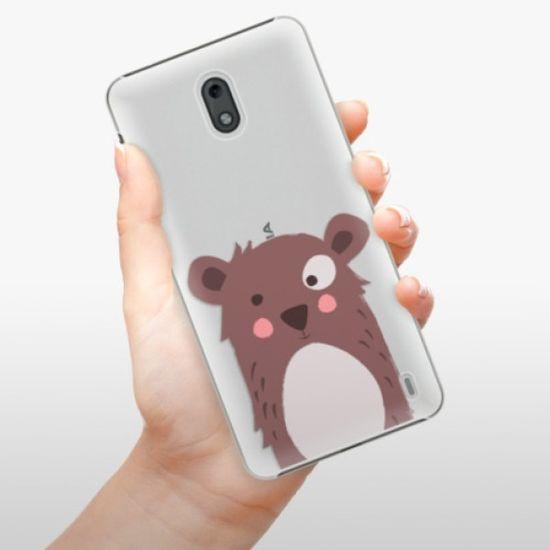 iSaprio Plastikowa obudowa - Brown Bear na Nokia 2